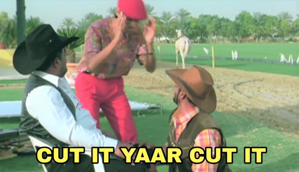 cut it yaar cut it meme welcome