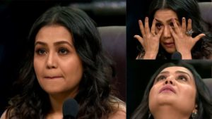 neha kakkar crying meme template
